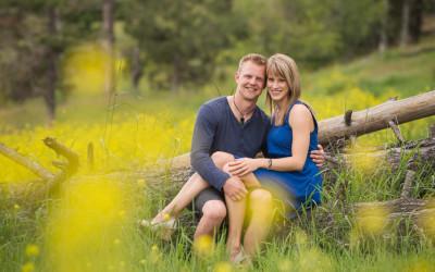 Theresa + Nick – Loon Lake engagement session