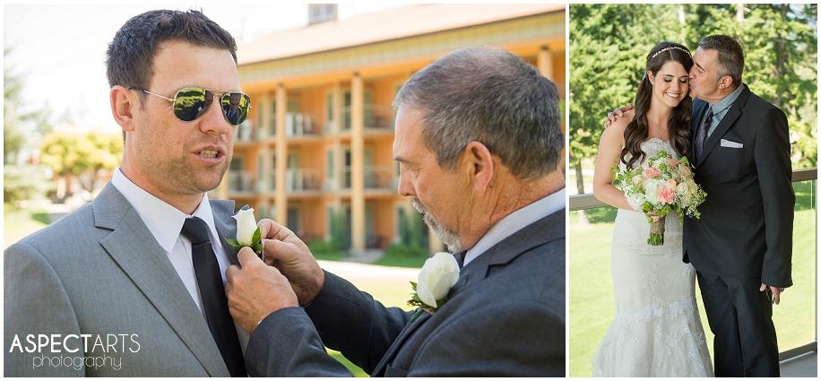 12 Shuswap wedding boutonnnier