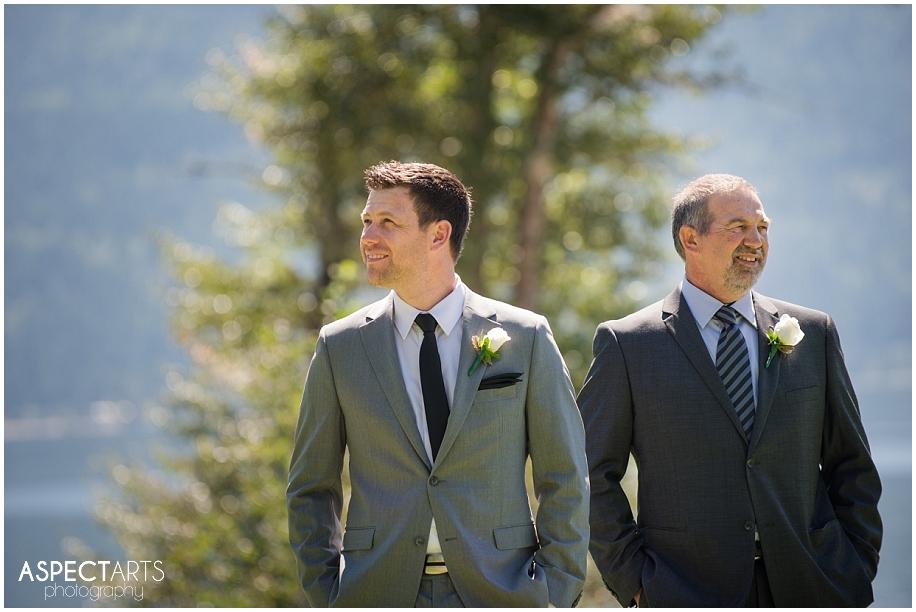 22 Shuswap wedding party groomsmen