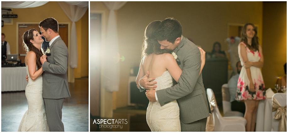41 Shuswap wedding photographer first dance