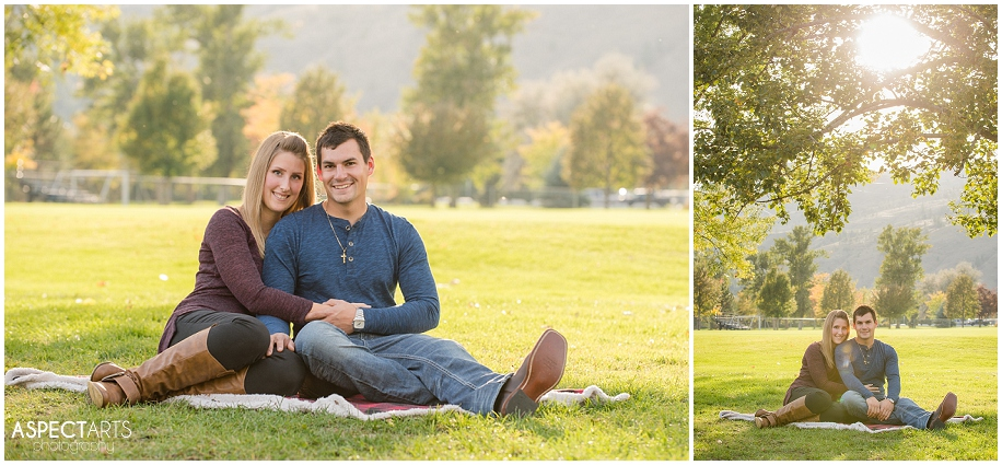 04 Kamloops engagement photographer evening sunshine