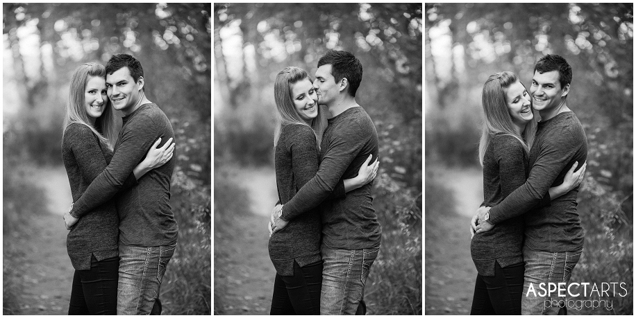 13 Kamloops engagement photographer couple having fun