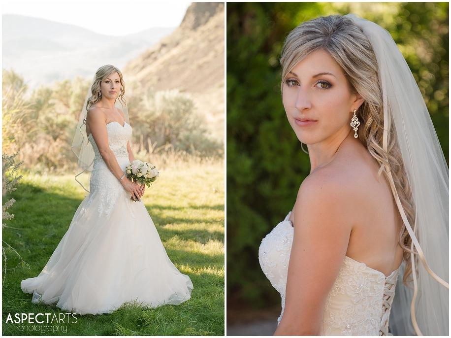 27 Bridal portraits Sun Rivers Kamloops wedding