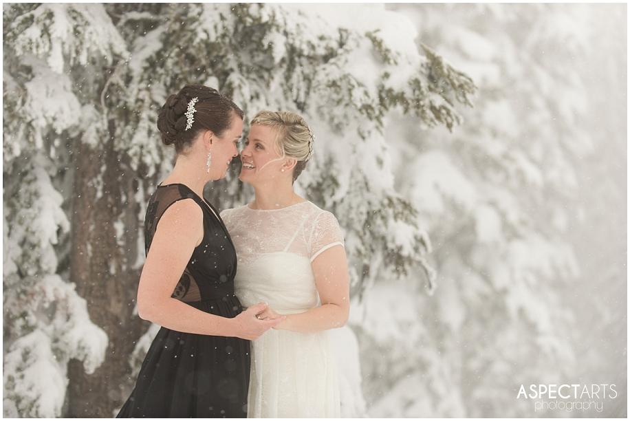 Sun Peaks Resort British Columbia wedding photographer same sex