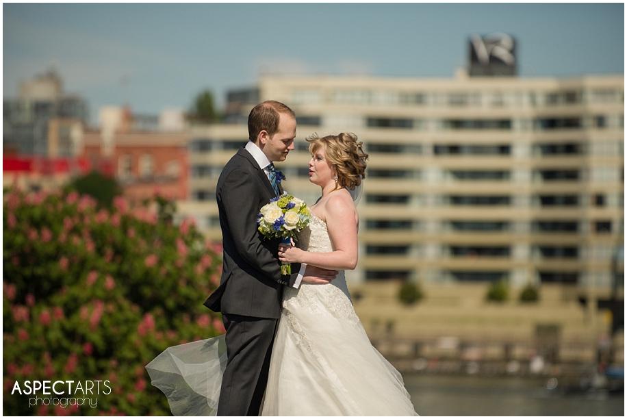 Victoria British Columbia destination wedding photographer city view downtown urban