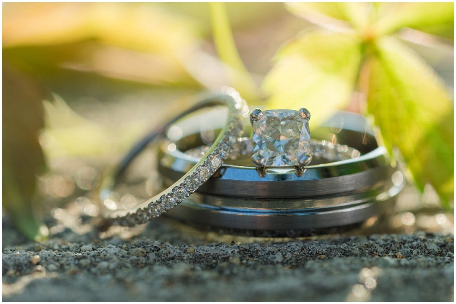Quaaout Lodge Wedding photographer detail shots rings