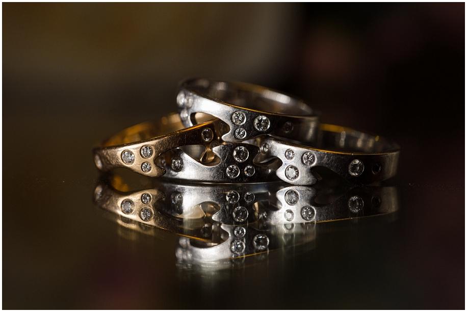 Sun Peaks Grand  Wedding photographer detail shots rings