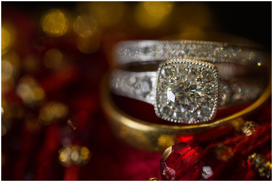 Kamloops Hoodoos Coast Hotel Wedding photographer detail shots macro rings red