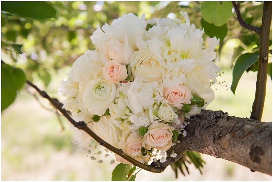 Kamloops Dunes Wedding photographer detail shots bouquet orchard