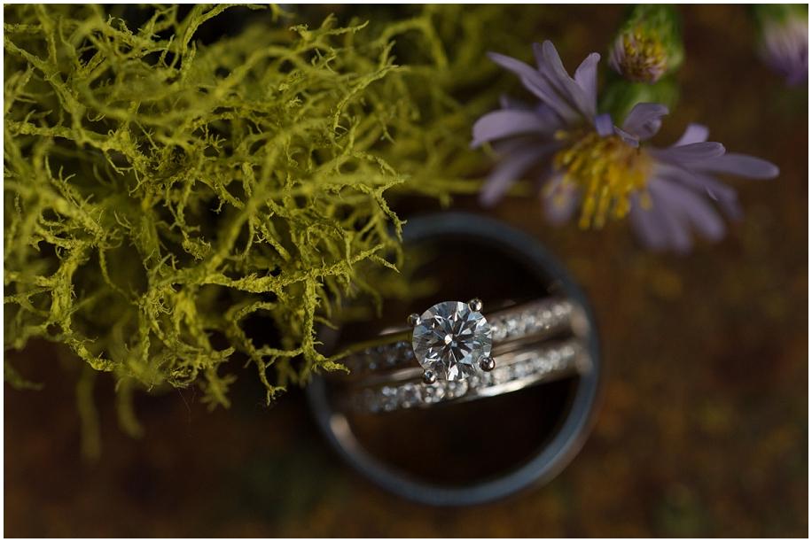 Kamloops Wedding photographer detail shots ring