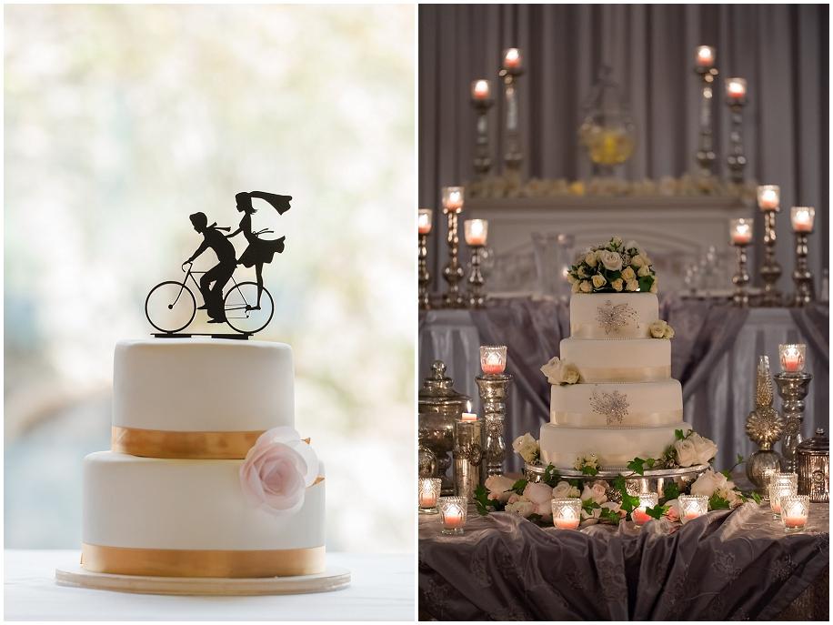 Kelowna Wedding photographer detail shots cake
