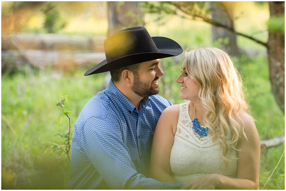 Kamloops engagement photographer golden hour authentic moment