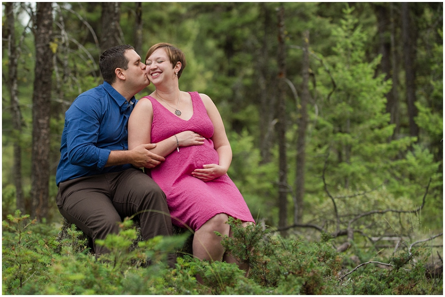 Kamloops portrait session photographer forest