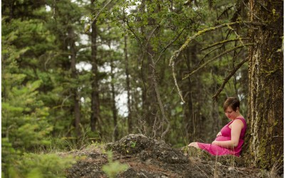 Chris + Leanne – Session in the Forest – Kamloops photographer