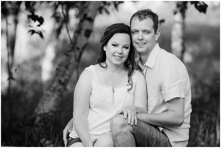 Kamloops portrait photographer black and white