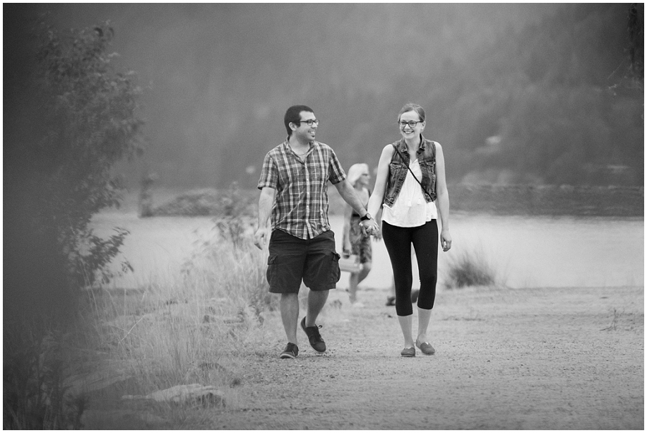 Harrison Hot Springs Proposal Photographer