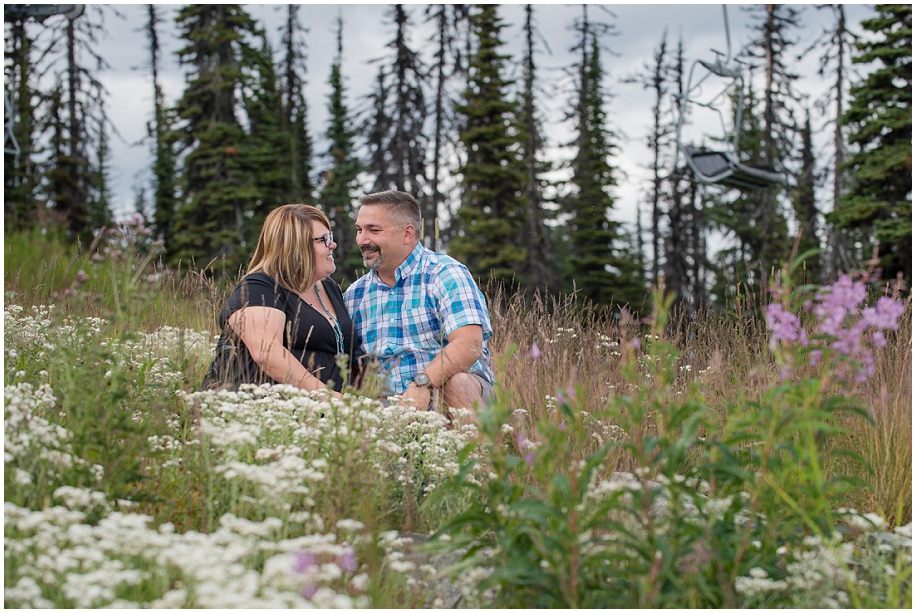 04 Sun Peaks photographer couple session alpine flowers