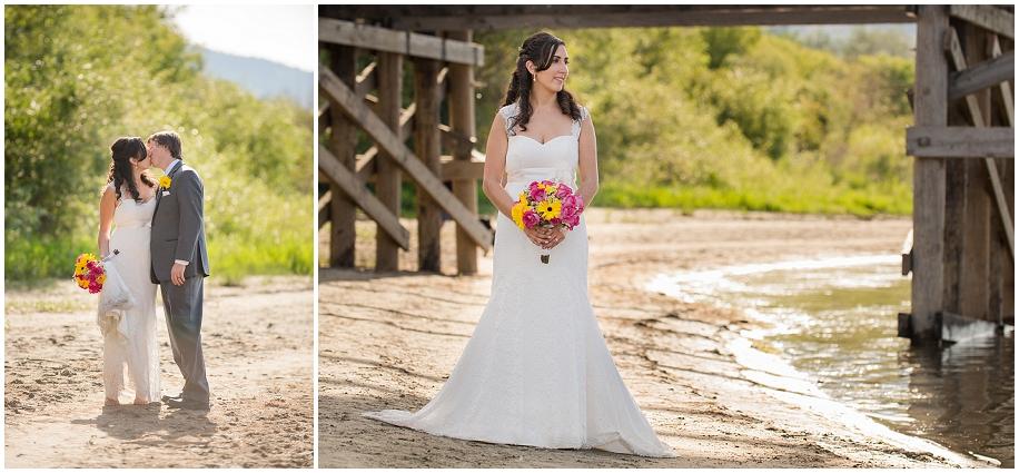 21  Kamloops wedding photographer river sand