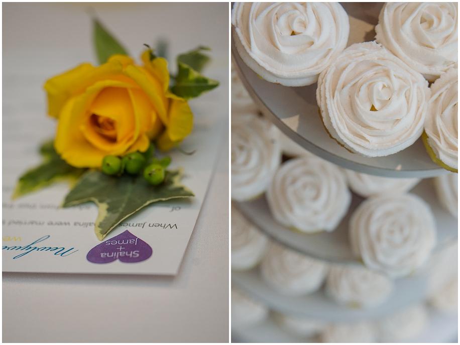 24 BC wedding photographer florals cupcakes