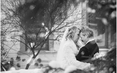 Kamloops winter wedding | Judy + Tom