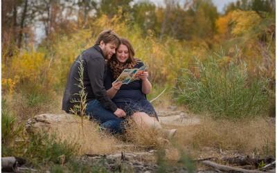 Kamloops Lake engagement session | Mirriah + Kris