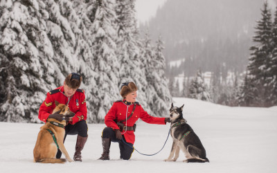 Winter RCMP session at Sun Peaks / Aspect Arts Photography