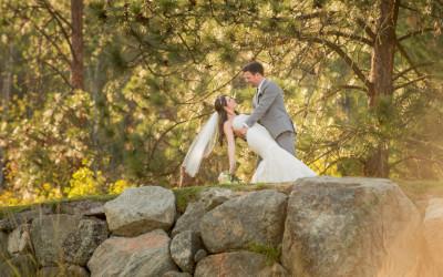 Emily + Curtis / Quaaout Lodge wedding