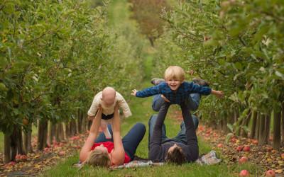 Davidson Orchard adventures – Vernon family session