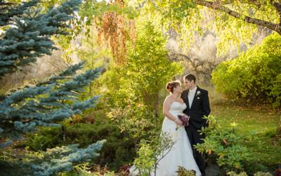 Melissa + Aaron / Kamloops wedding photographer