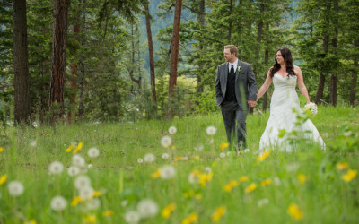 Tanis + Brian – Quaaout Lodge wedding photographer Chase BC