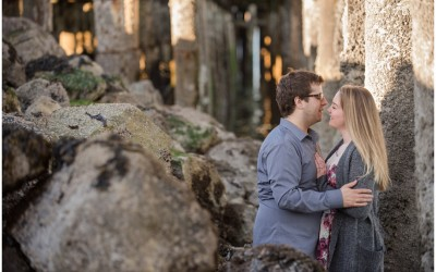 Vancouver Engagement Session at Spanish Bank teaser