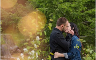 Harper Mountain Engagement Session