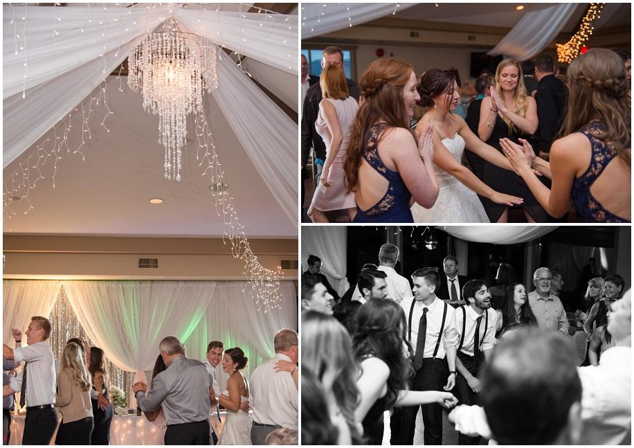 Kamloops documentary wedding photographer The Dunes Golf Course reception