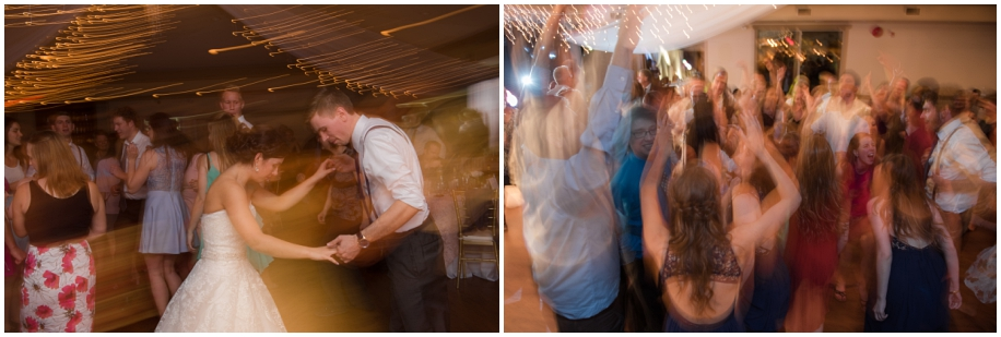 Kamloops wedding photographer The Dunes reception party dancing shutter drag artistic