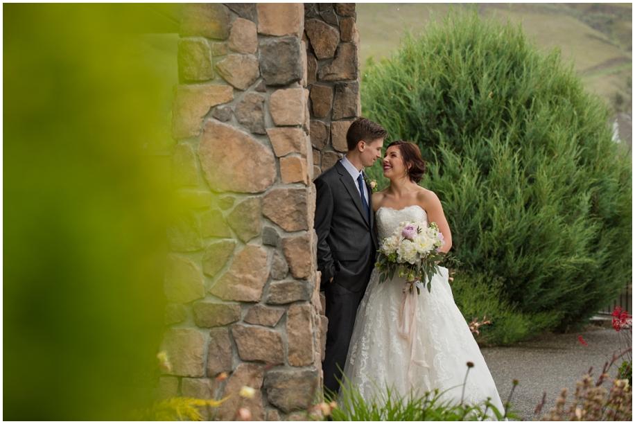 Kamloops Thompson Okanagan wedding photographer The Dunes bridal portraits rain bride groom
