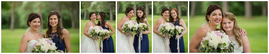 Kamloops wedding photography  bridal party portraits rain Thompson Okanagan photographer bridesmaids