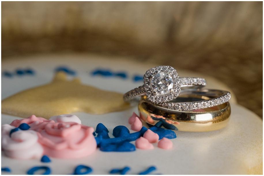 Kamloops wedding photographer The Dunes details macro wedding ring shot