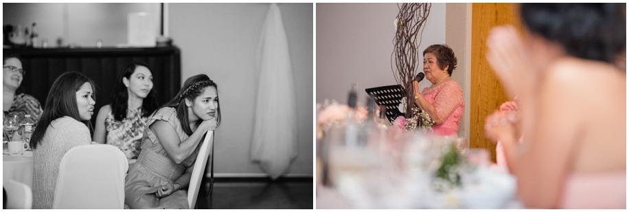 BC photographer wedding reception Quaaout Lodge speeches