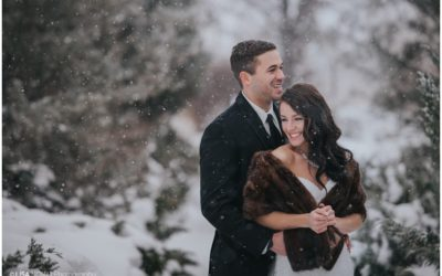 Winter Wedding Thompson Rivers University