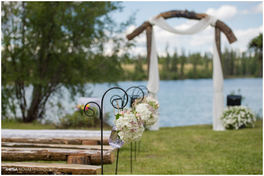 Lakeside Wedding Big Bar Lake Bc Lisa Novak Photography
