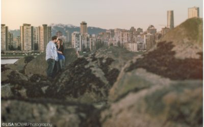 Cherry Blossom Engagement Session Vancouver