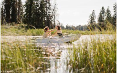 Corbett Lake Lodge BC wedding – Emily + Taryn