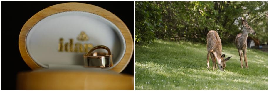 Idar Jewelers outdoor summer wedding sunshine TRU Kamloops BC vintage chic