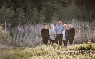 Harper Mountain family session