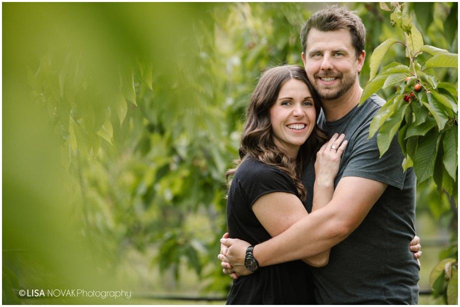 Okanagan lifestyle family session apple orchard Summerland BC portrait photographer