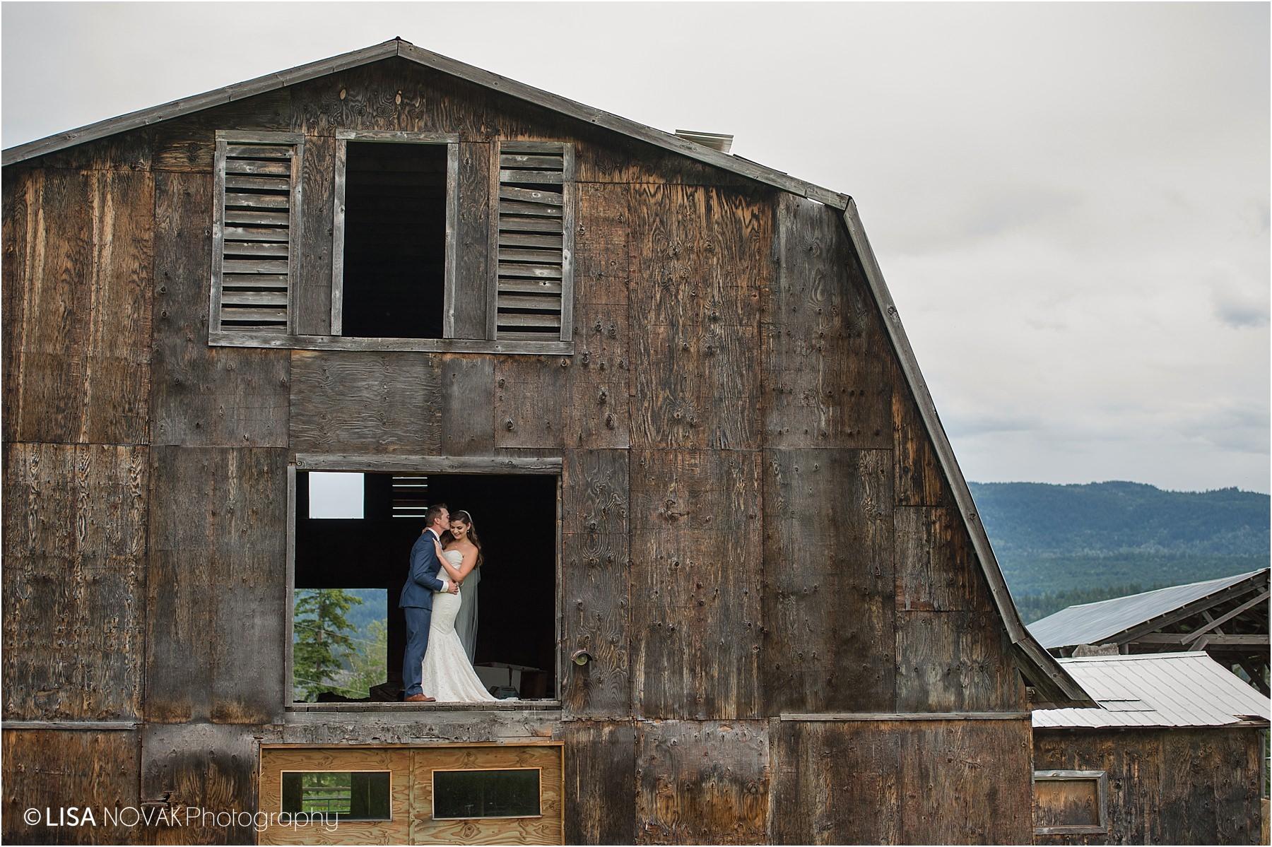 Okanagan Kamloops trash the dress photographer beautiful views old barn bride groom romantic bridal portraits portrait epic