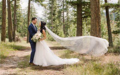 Stunning Quaaout Lodge wedding