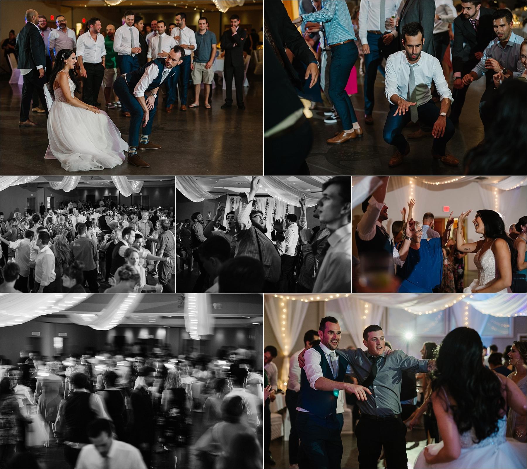 Wedding Reception Lighting Photography: Shuswap Wedding Photographer Reception Party Photography