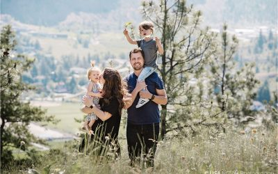 Summerland family photoshoot adventure
