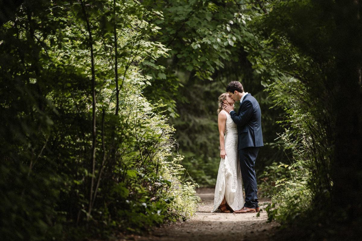Shuswap wedding photographer bridal portrait